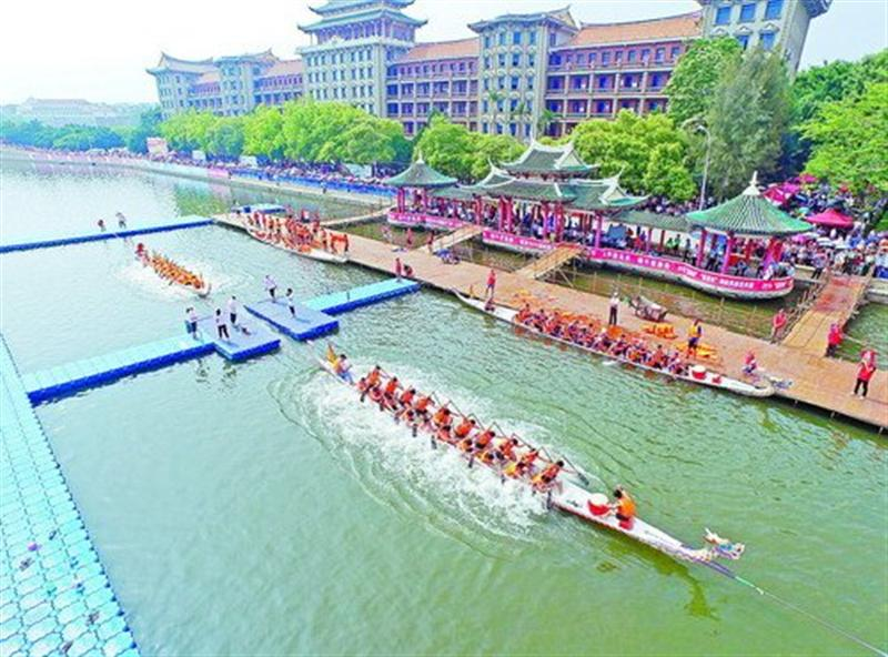 中国龙舟(拔河)赛开划 传统龙舟创新中发展