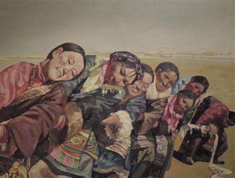 拔河运动在艺术作品中的展现